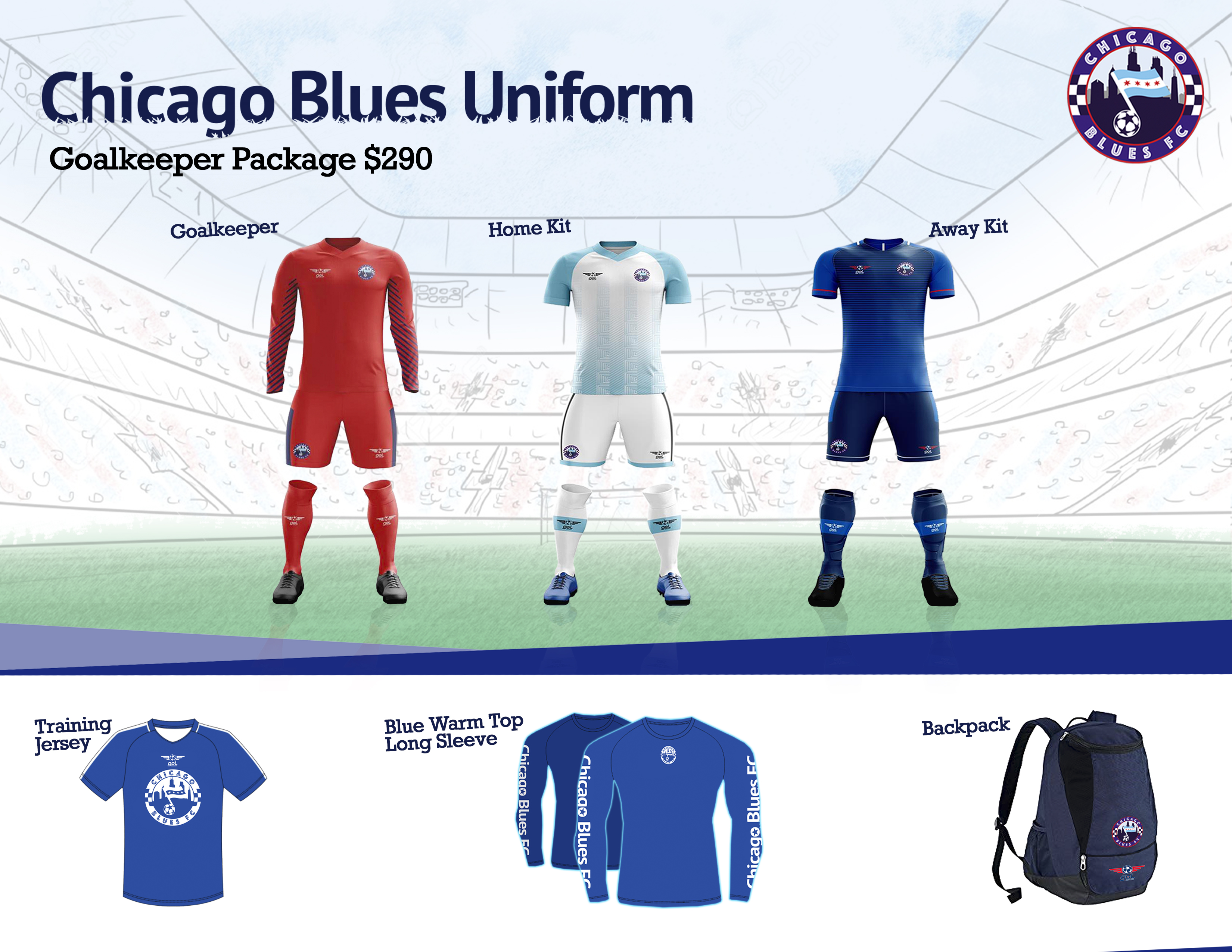 Goalkeeper Package Uniform