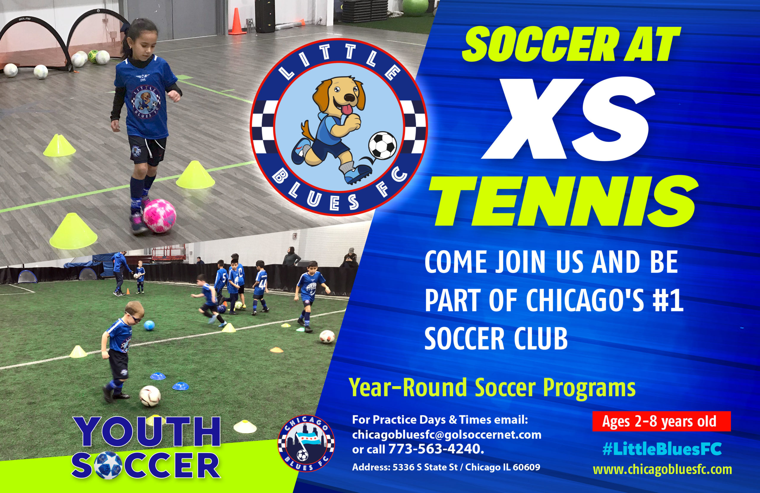 xs tennis Chicago Youth soccer