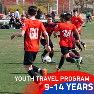 Travel soccer program